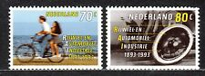 Netherlands - 1993 Bicycle and car industry Mi. 1460-61 MNH