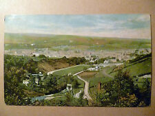 Vintage Post Card of Hawick with Half Penny Green Postal Stamp posted on 1906