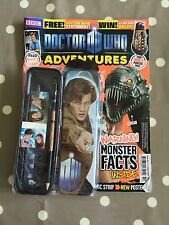 DOCTOR WHO ADVENTURES MAGAZINE Issue 161 With Free Gifts - Free Postage