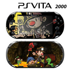 Vinyl Decal Skin Sticker for Sony PS Vita Slim 2000 Spelunky