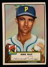 1952 Topps Baseball #63 Howie Pollett Black Back Ex+ c04285