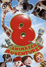 8 Animated Adventures  Kids Movies Collection (New DVD, 2015)