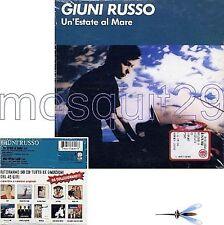 """GIUNI RUSSO """"UN'ESTATE AL MARE"""" CDs - FRANCO BATTIATO"""