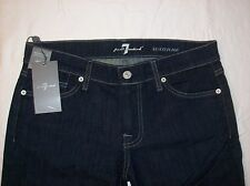 NWT Seven 7 For All Mankind Dark Jeans Crystal Embellished  W 29 x 32 $198.00