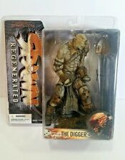 """SPAWN REGENERATED SERIES 28 THE DIGGER 7"""" ACTION FIGURE McFarlane Toys 2005 NEW"""