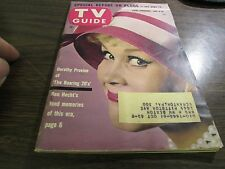 VINTAGE - TV GUIDE NOV 4th 1961 - DOROTHY PROVINE - THE ROARING 20'S - EXCELLENT
