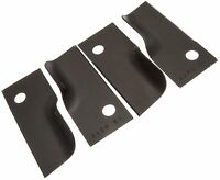 """Set Of 4 Blade Tips Fits ROVER Lawnmower- 18"""" / 20"""" Replaces A03930, 742-04404"""