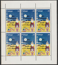 Nagaland (2231) - 1969 Kennedy Death Anniv perf sheet of 6 unmounted mint