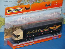 "MATCHBOX MBX RIG & BOX TRAILER R0655 DETACHABLE CAB 9"" (23cm) *BRAND NEW & RARE*"