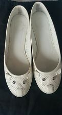 Marc Jacobs white mouse trainers flats 39 6
