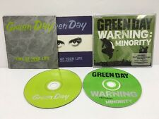 "Green Day CD Singles ""Time Of Your Life"" France & ""Warning :Minority"" Australia"