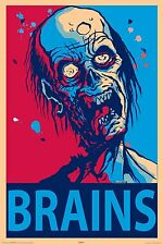 Framed Print - Zombie After Brains (Picture Poster Art The Walking Dead Z Nation