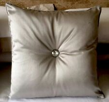 Lovely silver Kylie look cristal coussin grand strass les deux parties 45 x 45 cm