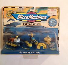 Micro Machines Exploration Shark Patrol #2 Collection-by Galoob New In Package!