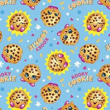 "1 Yard Springs Moose Shopkins ""Cookie with the Look""  Fabric"