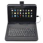 Schutz Hülle Tastatur Deutsch Keyboard 7 Zoll Tablet PC Tasche Mit Micro USB
