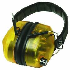 PAIR OF PROTECTION ELECTRONIC EAR DEFENDERS MICROPHONE SOUND CONTROLLER LED
