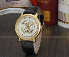 Winner  Automatic Men Skeleton Mechanical Watch