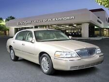 Lincoln: Town Car 4dr Sdn Sign