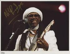 Nile Rodgers Chic  Signed 8 x 10  Photo Genuine In Person