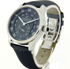 LOUIS ERARD LADIES WATCH SWISS MADE AUTOMATIC SAPPHIRE GREY SILK 92600AA23