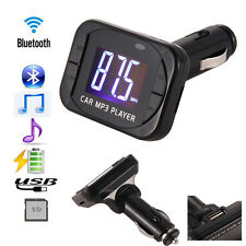 New MP3 Player Wireless FM Transmitter Modulator Car Kit USB SD MMC LCD Remote