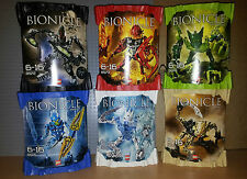 LEGO BIONICLE - AGORI - FULL COMPLETE SET 8972 8973 8974 8975 8976 8977, INC BOX