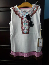 Mini Shatsu Nwt Girls Bohemian Dress Size 7