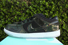 NIKE SB DUNK LOW TRD 420 QS SZ 9 QUICKSTRIKE GALAXY SPACE JAM BLK 883232 001