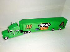 Danica Patrick 2012 #10 GoDaddy NASCAR Hauler 1/64 Transporter