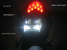 SUZUKI Bright White SMD LED Motorcycle Car License Plate Bolt Light GSX-R
