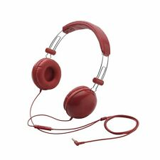 Elecom EHP-SMOH100 Headphones with Mic for Android Smart phone IPAD - RED