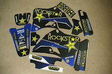 TEAM  ROCKSTAR  GRAPHICS  YAMAHA YZ125 YZ250  1996 1997 1998 1999 2000 2001
