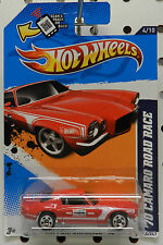 RED 1970 CHEVY CAMARO ROAD RACE 2012 144 4 CHAMPION SPARK PLUG HW HOT WHEELS