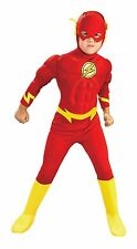 Toddler The Flash Deluxe Muscle Chest Costume Toddler Size 2-4