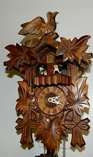 *****BEAUTIFUL MUSICAL BLACK FOREST GERMANY CUCKOO CLOCK****