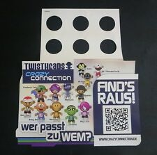 "Original Palettenanhänger ""Twistheads Crazy Connection"" Deutschland 2012 Serien"