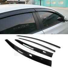 Smoke Window Sun Vent Visor Rain Guards 4P A123 For HYUNDAI 2011-2016 Elantra MD