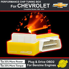 POWER BOX CAR AUTO CHIP TUNING ECU REMAPPING REMAP PERFORMANCE UPGRADE For CHEVY