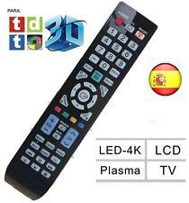 MANDO A DISTANCIA SAMSUNG PARA LCD LED PLASMA LED-4K NO REQUIERE PROGRAMACION
