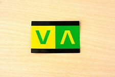 "RVCA G/Y ""VA"" Vinyl Sticker/Decal!"