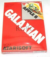 "Vintage Sealed NOS Atari Galaxian Game for Apple II Atarisoft 1983 5 1/4"" Disk"
