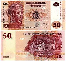 CONGO AFRIQUE Billet 50 FRANCS 2013 TSHOKWE NEUF UNC