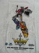 NEW ANIME VOLTRON DEFENDER OF THE UNIVERSE X-LARGE ADULT T-SHIRT