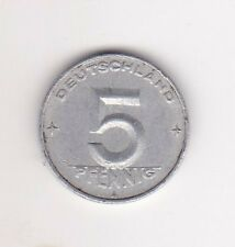 Germany 5 Pfennig Aluminium Coin - 1949 MUST L@@K !!