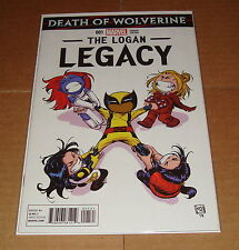 Death of Wolverine Logan Legacy #1 Skottie Young Baby Variant Edition 1st Print