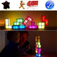 ORIGINAL: TETRIS LAMPE DE BUREAU SALON VEILLEUSE DECORATION IDEE CADEAU