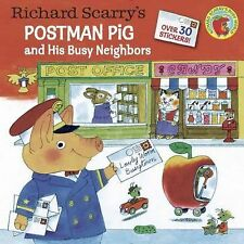 Pictureback Ser.: Richard Scarry's Postman Pig and His Busy Neighbors by...