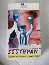 SOUTH PAW, DOCUMENTARY OF FRANCIS BARRETT, VHS  2000