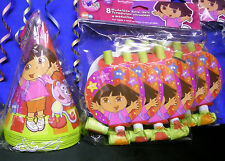 Dora The Explorer StarCatcher 8 Hats & 8 Blowouts
